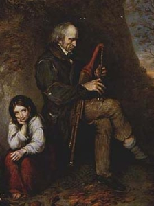 uilleann piper, National gallery of Ireland